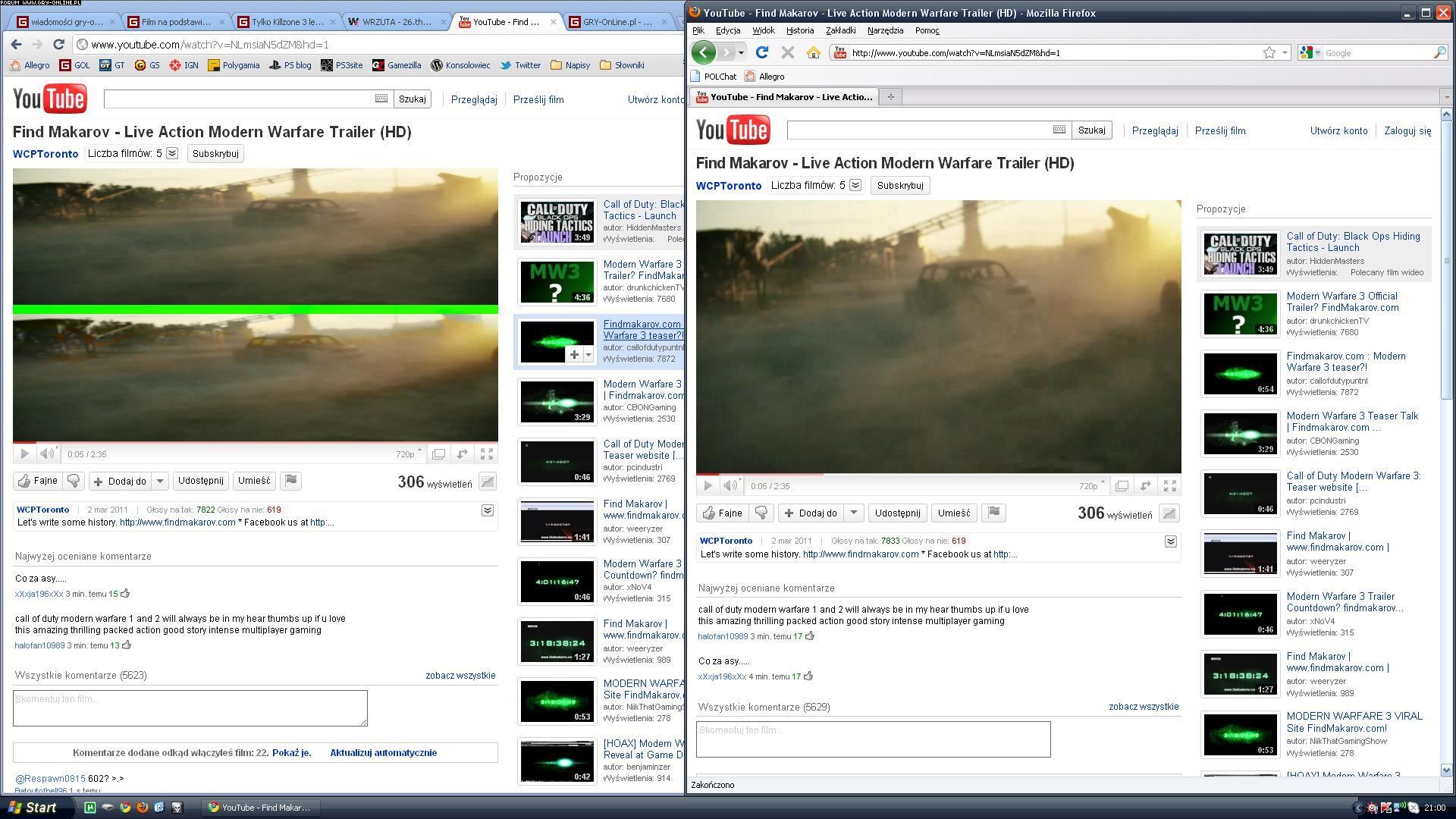 Co za draństwo?! Filmiki a Google Chrome - Ilustracja 1/1 - forum gry-online.pl