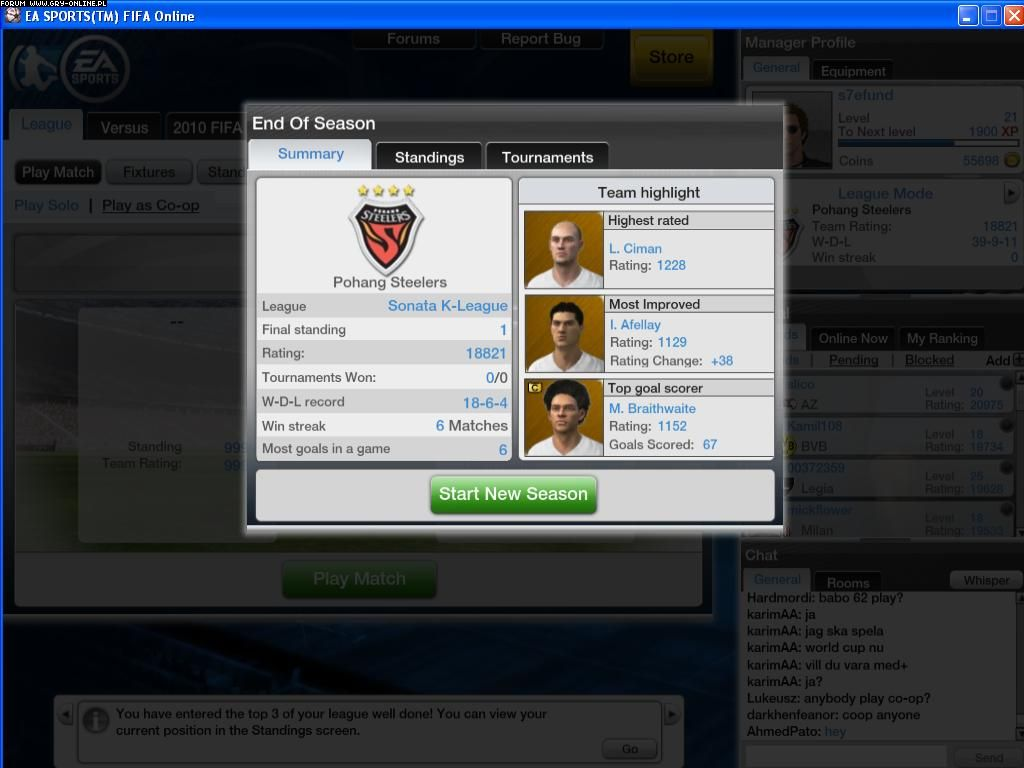 Fifa Online 2 Pi Ka W Grze 3 6 Galeria Forum Gry