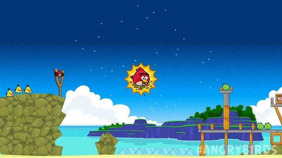 Angry Birds nowe poziomy i ulepszenia