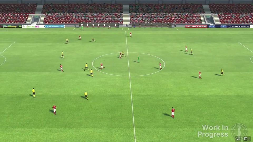 Football Manager 2013 trailer - silnik meczowy