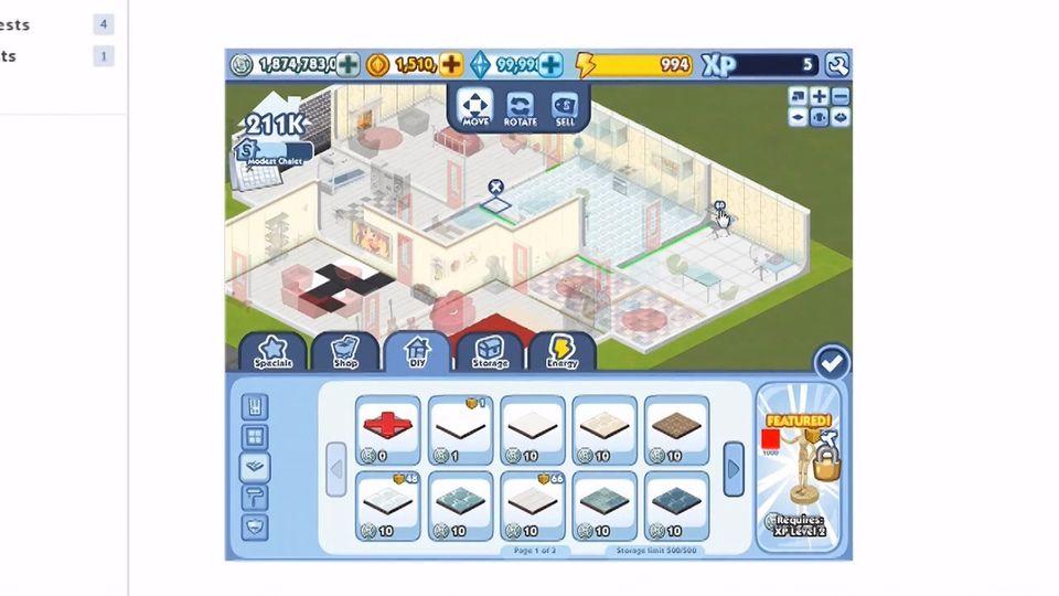 The Sims Social trailer #1