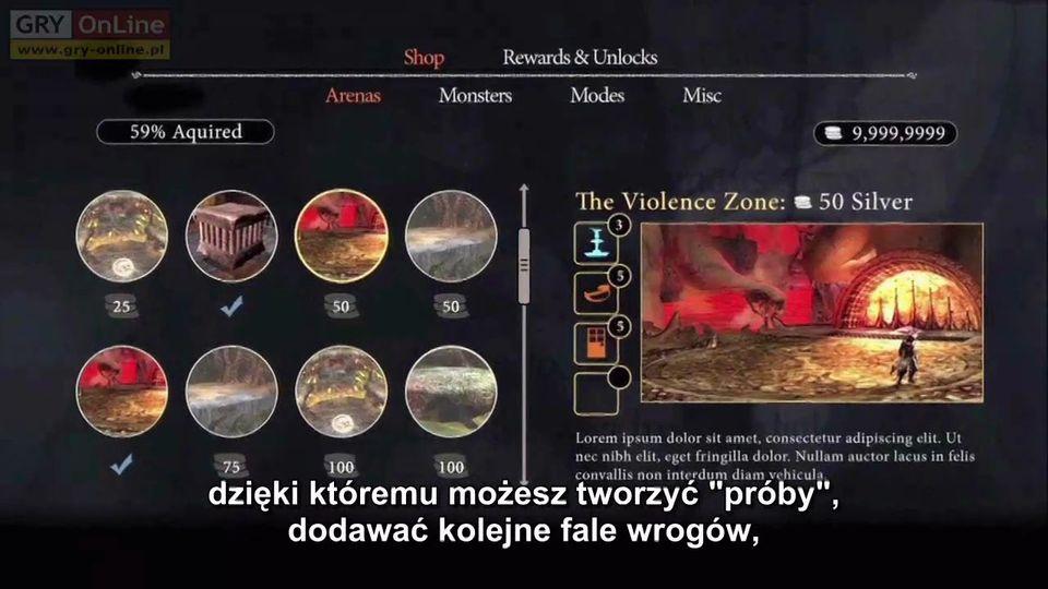 Dante's Inferno Trials of St. Lucia - wersja PL