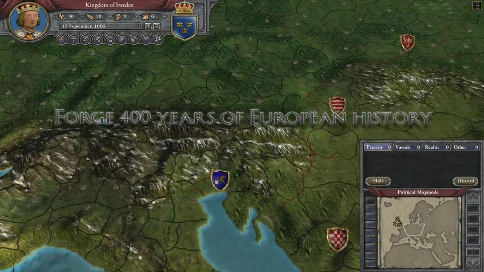 Crusader Kings II: Mroczne Wieki teaser