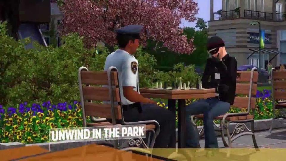 The Sims 3: Miejskie �ycie - akcesoria zwiastun na premier�