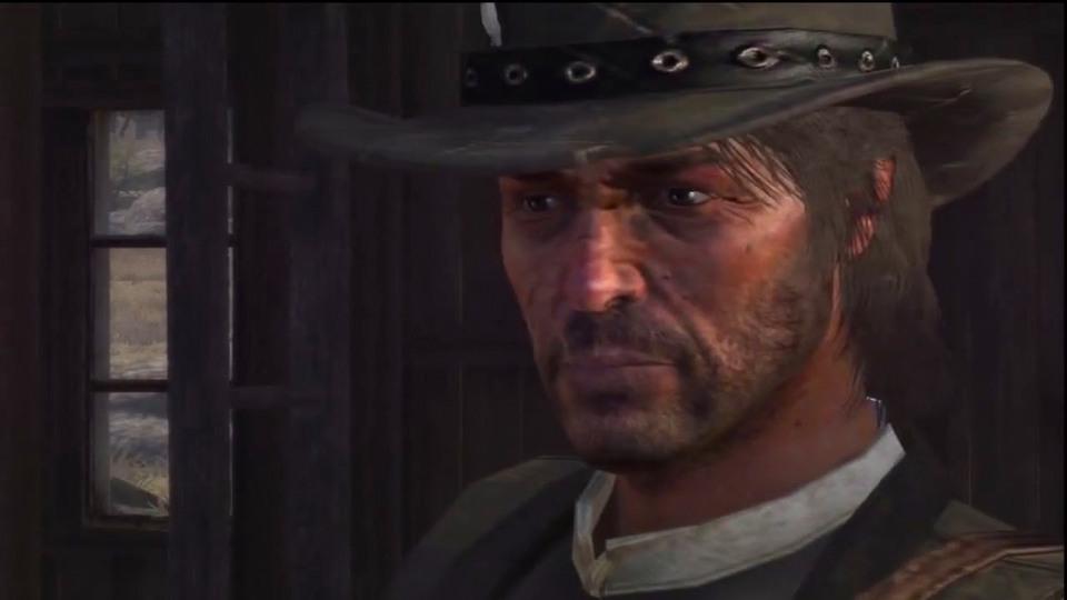 Red Dead Redemption Spojler! Scena z zako�czenia gry