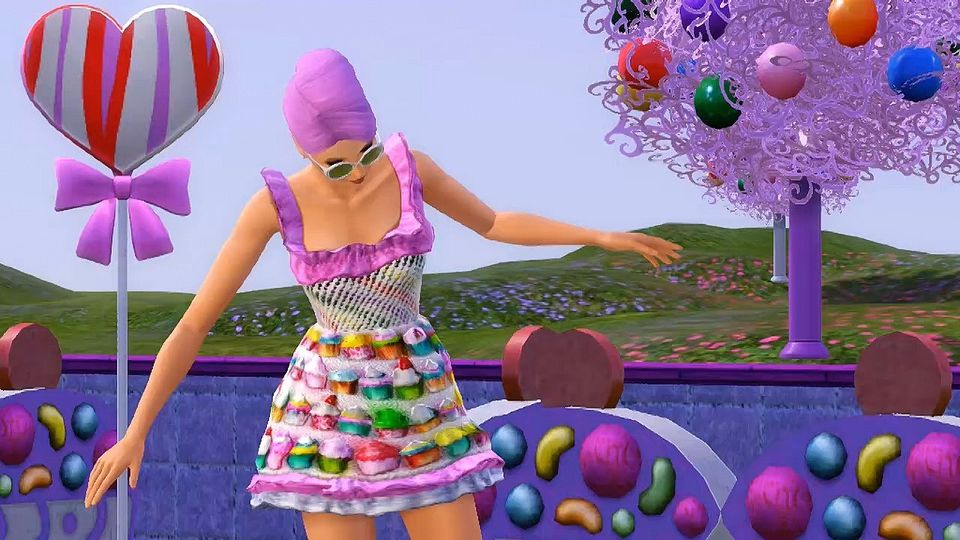The Sims 3: S�odkie Niespodzianki Katy Perry trailer #2