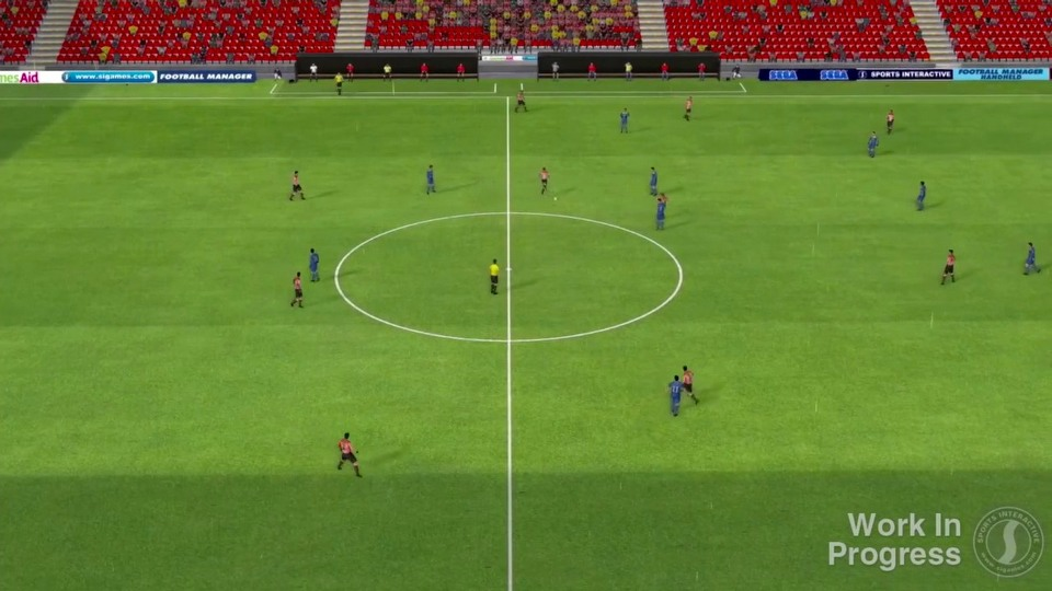 Football Manager 2014 alpha gameplay