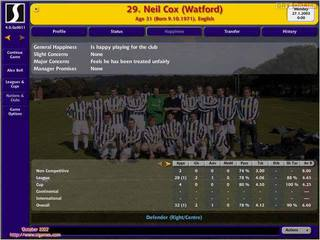 Championship Manager 4 - screen - 2002-10-24 - 12297
