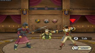 Dragon Quest Swords: The Masked Queen and the Tower of Mirrors - screen - 2008-04-25 - 104299
