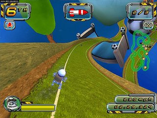 Crazy Frog Racer 2 - screen - 2006-10-31 - 75071