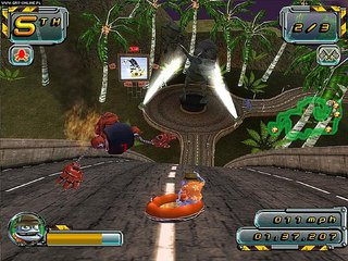 Crazy Frog Racer 2 - screen - 2006-10-31 - 75074