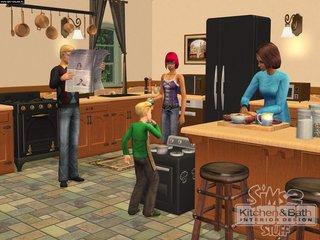 The Sims 2: Kuchnia i łazienka - wystrój wnętrz - screen - 2008-02-05 - 92816
