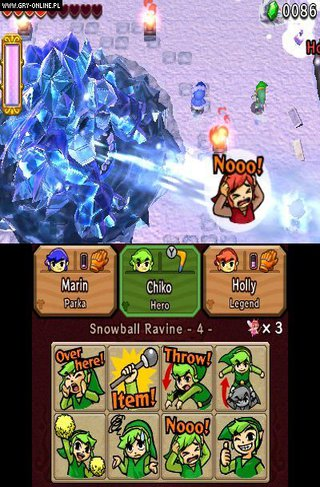 The Legend of Zelda: Tri Force Heroes id = 307930