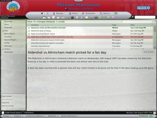 Football Manager 2008 - screen - 2007-08-14 - 86663