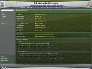 Football Manager 2007 - screen - 2006-06-20 - 68832