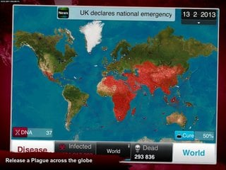Plague Inc. - screen - 2015-05-13 - 299584