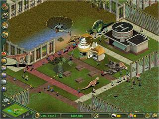 Zoo Tycoon: Dinosaur Digs - screen - 2002-02-20 - 9344