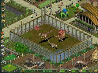 Zoo Tycoon: Dinosaur Digs - screen - 2002-02-20 - 9345