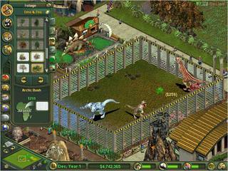 Zoo Tycoon: Dinosaur Digs - screen - 2002-02-20 - 9346