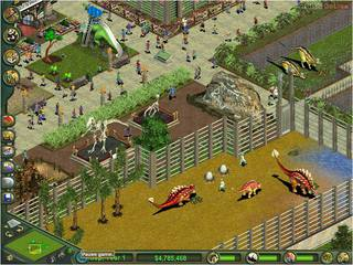 Zoo Tycoon: Dinosaur Digs - screen - 2002-02-20 - 9347