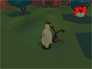 Sheep, Dog 'n Wolf - screen - 2001-11-12 - 7418
