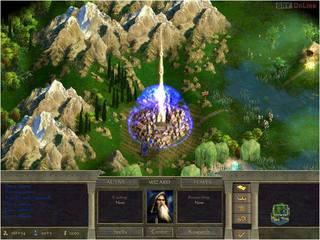 Age of Wonders II: Tron Czarnoksiężnika - screen - 2001-05-10 - 3540