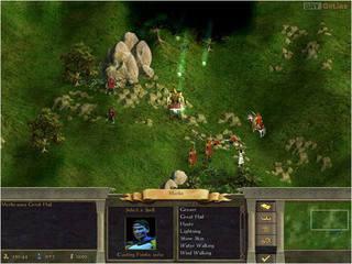 Age of Wonders II: Tron Czarnoksiężnika - screen - 2001-05-10 - 3542
