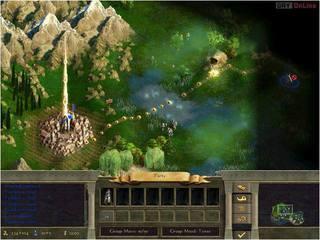Age of Wonders II: Tron Czarnoksiężnika - screen - 2001-05-10 - 3543