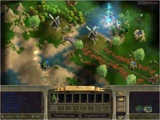 Age of Wonders II: Tron Czarnoksiężnika - screen - 2001-05-10 - 3544