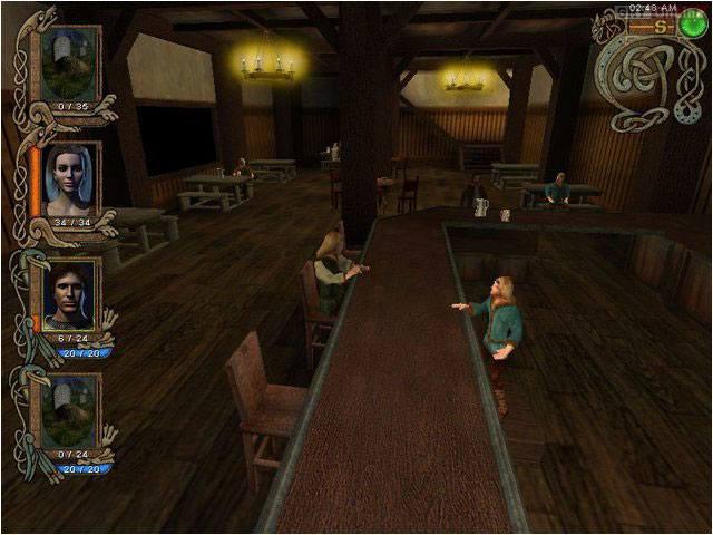 Текущий показываемый скриншот из игры strong em Might and Magic 9/em/strong