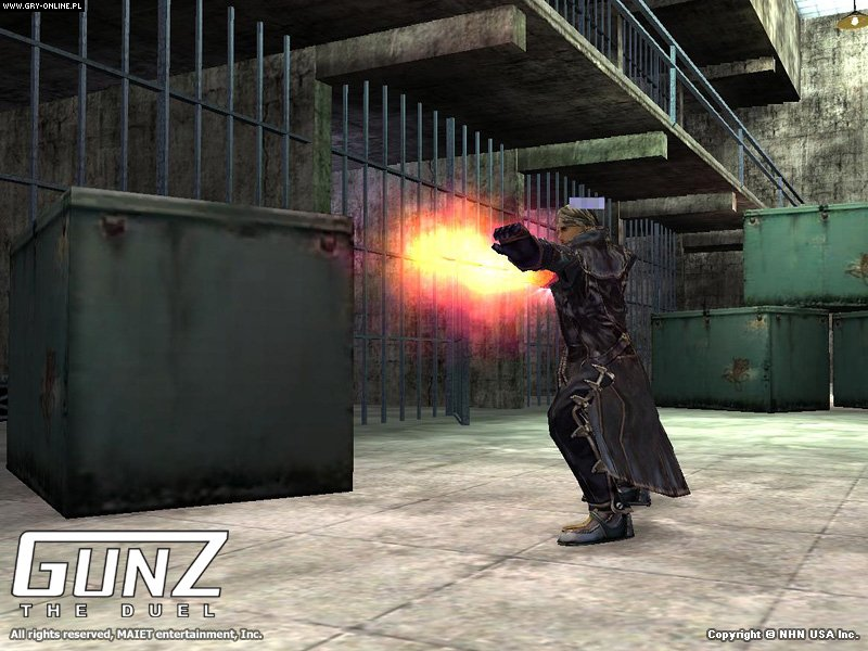 Gunz the Duel PC Gry Screen 3/8, NHN Games, NHN Corp