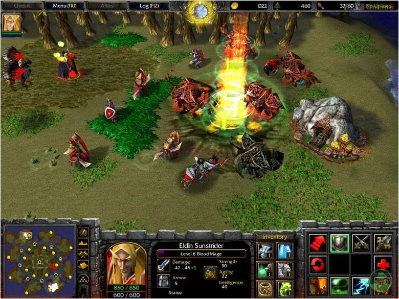 Warcraft III: The Frozen Throne PC Games Image 14/17, Blizzard Entertainment