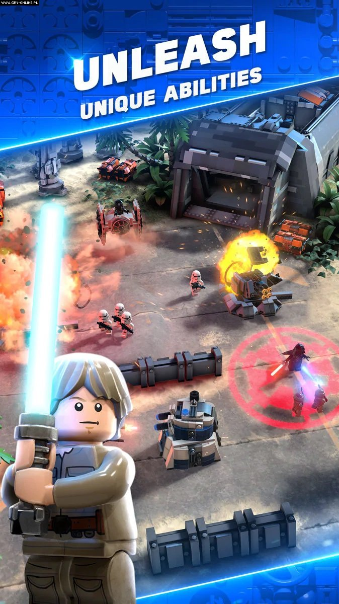 LEGO Star Wars Battles iOS, AND Games Image 3/4, Traveller's Tales / TT Games, Warner Bros. Interactive Entertainment