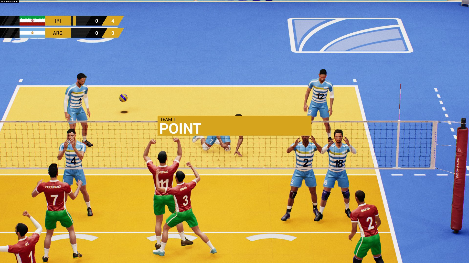 Spike Volleyball PC, PS4, XONE Games Image 4/5, Black Sheep Studio, Bigben Interactive