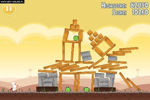 Angry Birds PC, X360, PS3, AND, iOS, WP Gry Screen 1/6, Rovio Mobile, Chillingo LTD