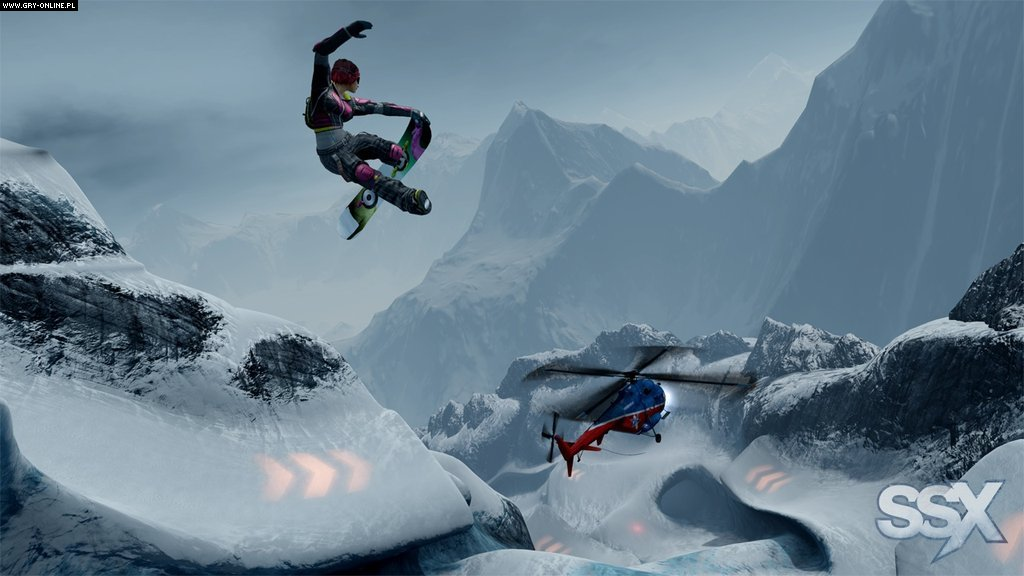 SSX X360, PS3 Gry Screen 30/54, EA Sports, Electronic Arts Inc.