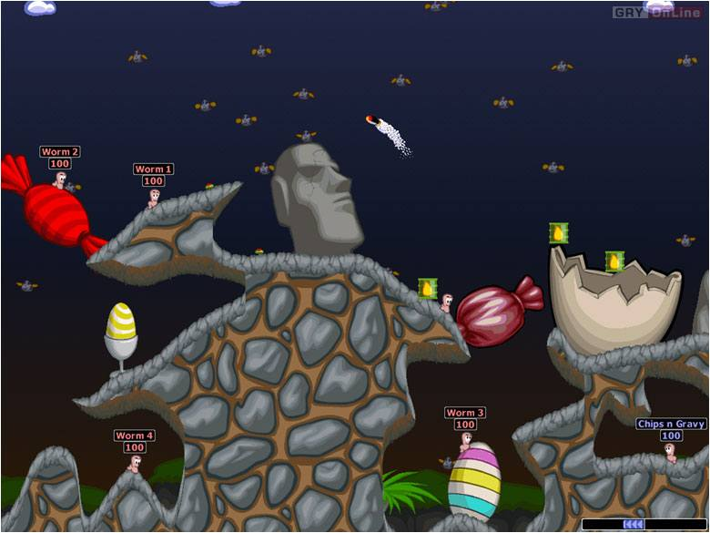 Worms World Party PC Gry Screen 3/10, Team 17, Titus Interactive