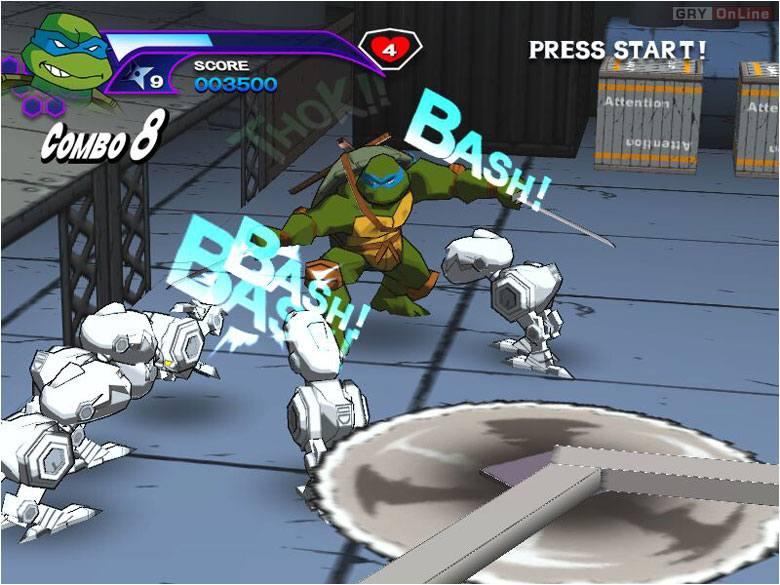 черепашки ниндзя прохождение игры смотреть онлайн