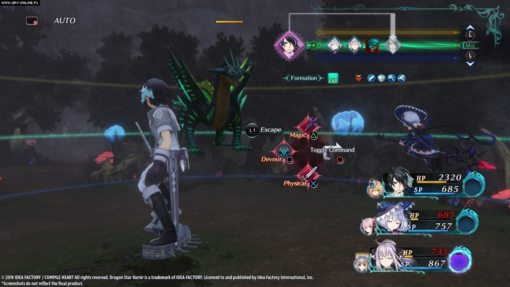 Dragon Star Varnir PS4 Games Image 38/76, Compile Heart, Idea Factory