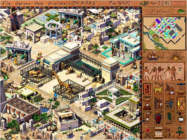 pharaoh strategy game online