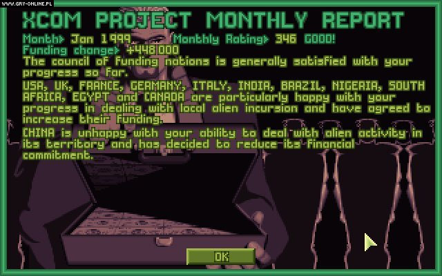 UFO: Enemy Unknown (1994) PC Gry Screen 8/13, Microprose