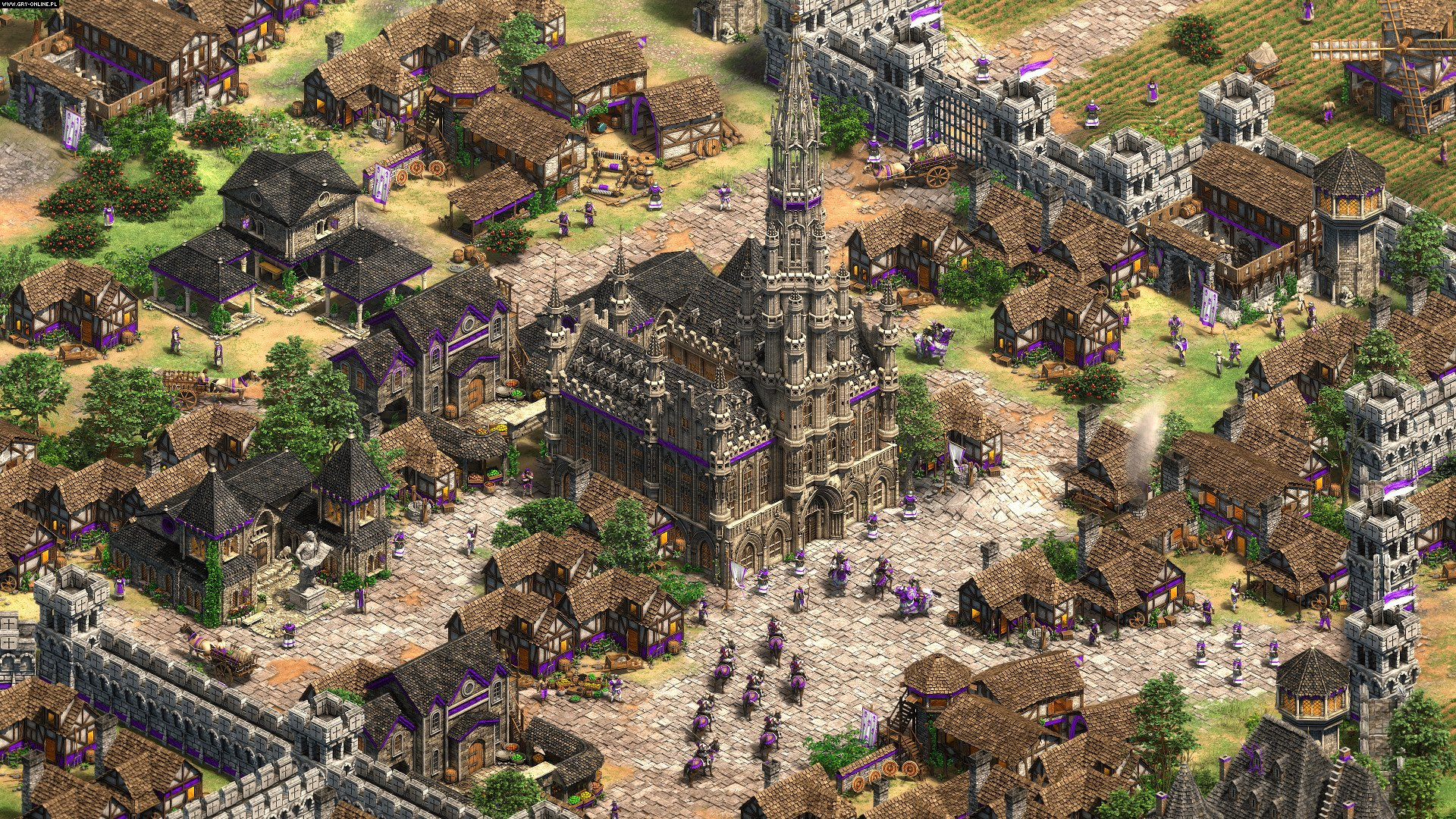 Age of Empires II: Definitive Edition-Lords of the West PC gameplay