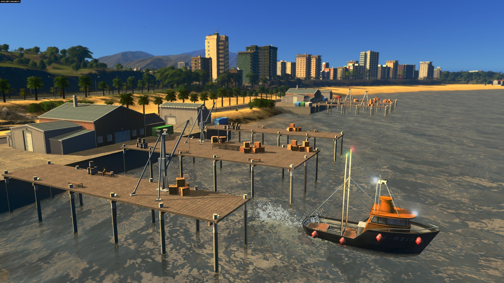 Cities: Skylines - Sunset Harbor PC, PS4, XONE Games Image 4/6, Colossal Order, Paradox Interactive