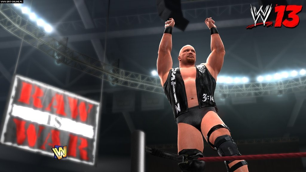 WWE '13 X360, PS3 Gry Screen 24/39, Yuke's, THQ Inc.