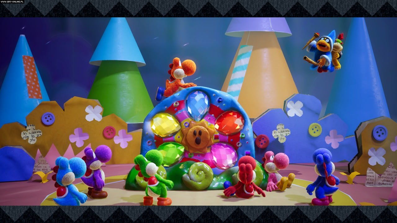 Yoshi's Crafted World Switch Gry Screen 11/24, Good-Feel, Nintendo