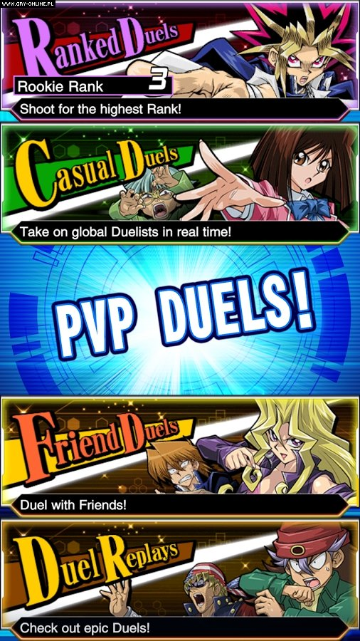 Yu-Gi-Oh! Duel Links PC, AND, iOS Gry Screen 5/5, Konami