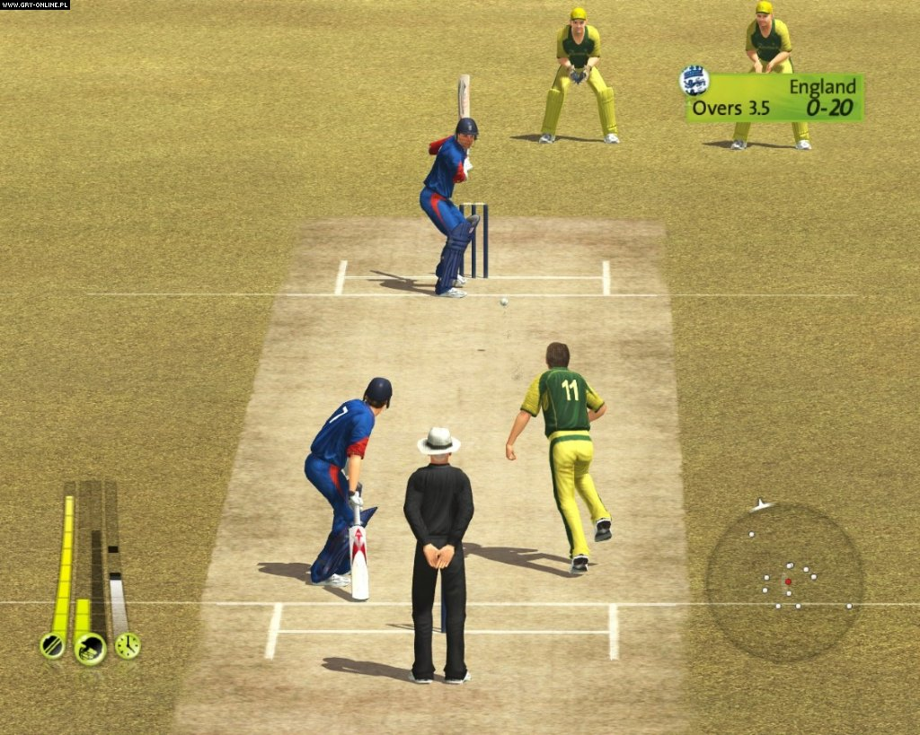 online games cricket 2007