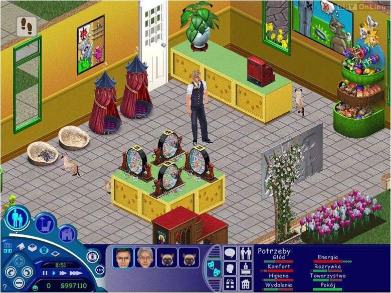 تحميل لعبة ذا سيمز الجزء الاول - The Sims