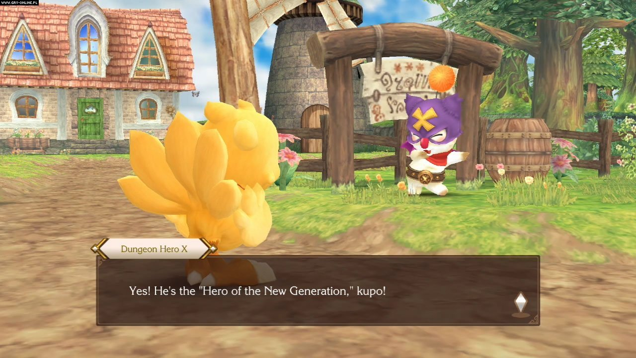 Chocobo's Mystery Dungeon: Every Buddy! PS4, Switch Gry Screen 2/18, Square-Enix / Eidos