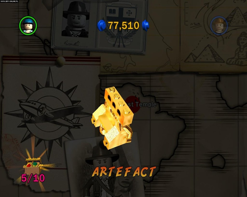 LEGO Indiana Jones: The Original Adventures PC Gry Screen 16/52, Traveller's Tales, LucasArts
